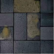 ТРОТУАРНЫЙ КЛИНКЕР SCHWABING брусчатка черная пестрая обожженная с фаской