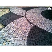 Тротуарная каменная брусчатка