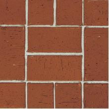 ТРОТУАРНЫЙ КЛИНКЕР SEMPIONE брусчатка красно-коричневая с фаской