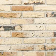 """КИРПИЧ РУЧНОЙ ФОРМОВКИ ОБЛИЦОВОЧНЫЙ ПОЛНОТЕЛЫЙ """"Wit gesinterd"""" фактура лицевой поверхности под старину"""